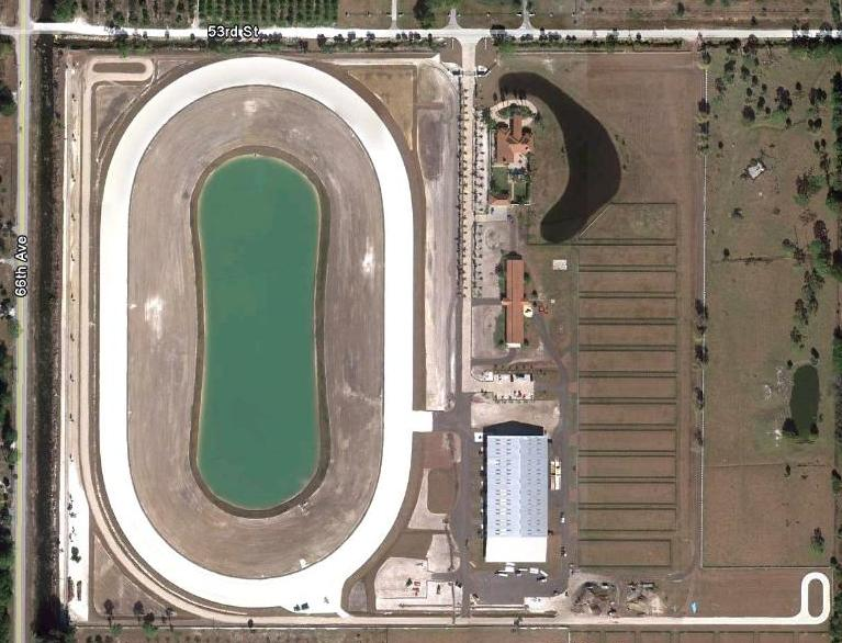 Aerial View the Palema Trotting Center